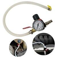 Carro de refrigeração do radiador pressão vazamento testador tanque combustível detector medidor ferramenta