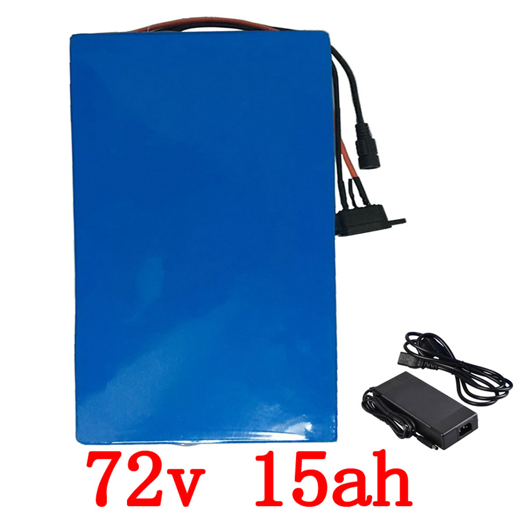 72v 2000w  lithium battery 72V 15AH electric bike battery 72v 15ah lithium ion battery pack with 40A BMS and 84V 2A charger72v 2000w  lithium battery 72V 15AH electric bike battery 72v 15ah lithium ion battery pack with 40A BMS and 84V 2A charger