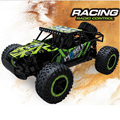 Coche del rc cars 4ch 2.4g 1:16 off-road de vehículos motores de accionamiento de alta velocidad 25 Km/h SUV COCHE Rastreadores de Rock de Conducción Del Coche Hummer Coche de Juguete modelo