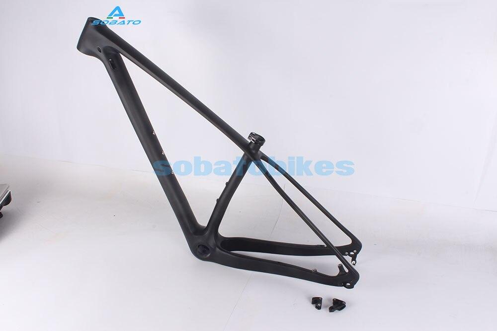 ჱMoutain carbono bicicleta marco freno de disco, marco de la bici ...