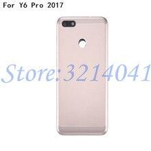 Good quality Battery Door Back Cover Housing Case phone parts For Huawei Y6 Pro 2017 / P9 lite mini SLA-L02 SLA-L22 SLA-TL00