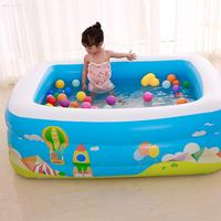 High Quality Children's Home Use Inflatable Pool Water Sports Family Inflatable Paddling Large Size Square Swimming Pool