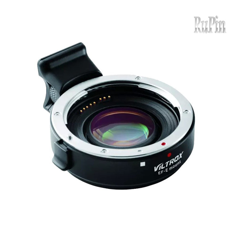 VILTROX EF-E Auto-focus AF Mount Adapter Focal Reducer Booster Adapter for Canon EF to Sony E-mount APS-C Camera NEX-7 NEX-6 50mm f2 0 aperture manual focus lens aps c for eosm nikon1 m43 sony e mount nex3 5t 6 7 a5000 a6000 a6300 fuji xt1 camera
