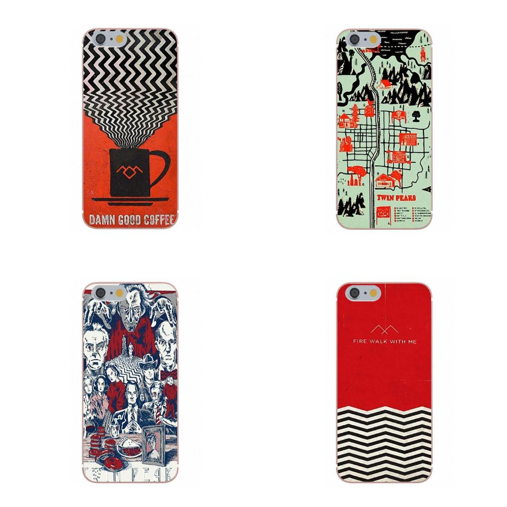 Oedmeb Cell Phone Case Tv Series Twin Peaks For Galaxy A3 A5 A7 J1 J3 J5 J7 S5 S6 S7 S8 S9 edge Plus 2016 2017