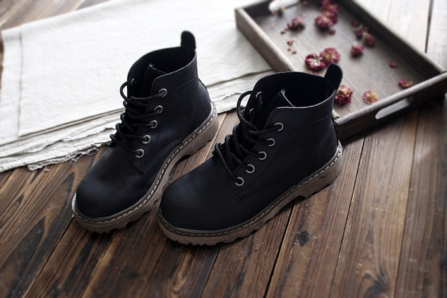 Careaymade Новый стиль обувь из натуральной кожи ботильоны ручной