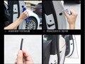10 M CALIENTE etiqueta engomada del coche almohadilla de protección Puerta tira de goma PARA mazda mx5 hyundai i10 vw caddy bmw e87 alfa romeo 159 volvo xc6 accesorios
