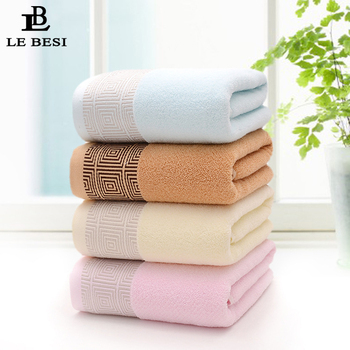 LEBESI 140*70CM Cotton Swimming Beach Towel Quick Dry Travel Towel Fast Drying Bathing Washcloth Camping Keep Warm