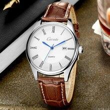 HOT Luxury Brand Men Casual Reloj de Cuarzo Horas Fecha Reloj de Los Hombres Relojes Deportivos de Cuero de Los Hombres Militar Reloj de Pulsera Relogio Masculino