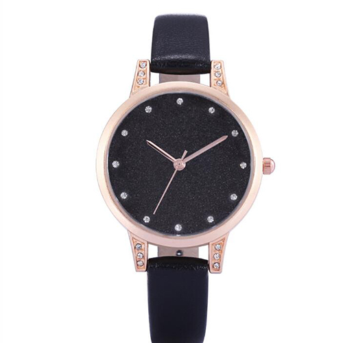 2019 Hot Fashion Women Quartz Watch Luxury Plastic Leather Analog Wrist Watches2019 Hot Fashion Women Quartz Watch Luxury Plastic Leather Analog Wrist Watches