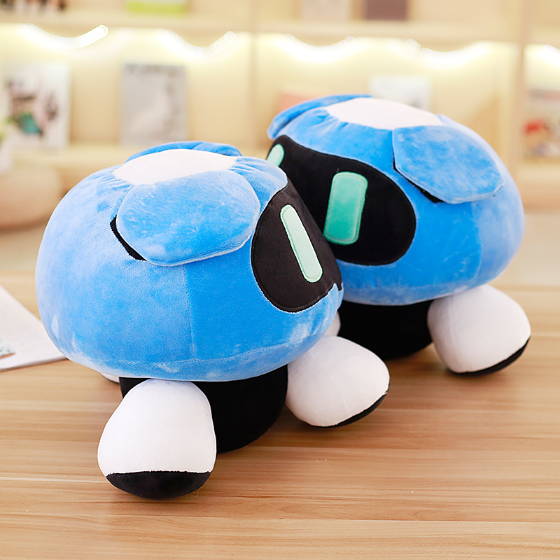 1pc 40cm Overwatches Blizzcon Mei Plush Pillow Dolls Cartoon OW Cosplay Stuffed Plush Toys Cushions Gifts 2