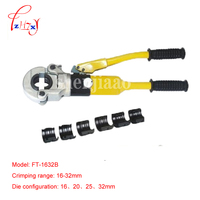 1pcs Hydraulic crimping tool FT 1632B for PEX pipe fittings PB pipe Copper AL connecting range 16 32mm with English manual