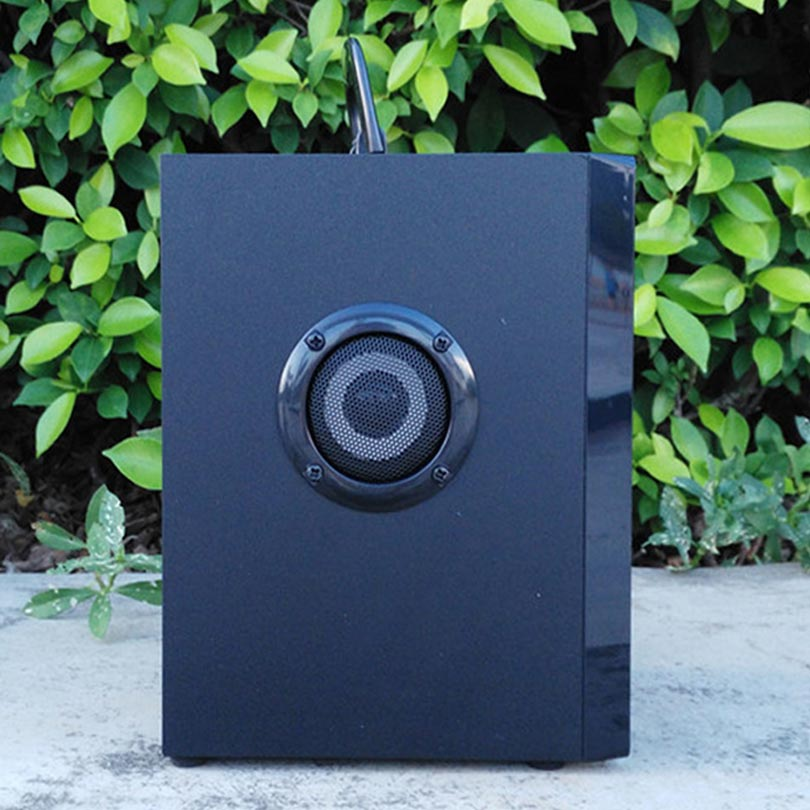 VAENSONG A10 ағаш HiFi Bluetooth спикер 2.1 Стерео - Портативті аудио және бейне - фото 4