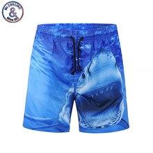 8ec6452ea7a Mr.1991INC Brand 2018 New Arrival Summer Hot Sale Men Beach Shorts 3D Print  Shark
