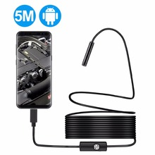 640p HD Inspection Mini Endoscope Camera AN97 with 1M USB Cable for Android Endoscope Searching Thing in Narrow Space Microscopy