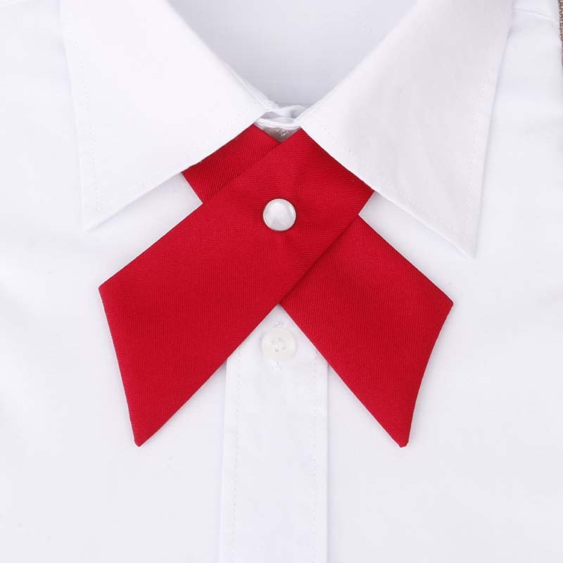 HOOYI 2019 Crossover Women Butterfly Bow Tie Knot Bowtie Necktie Neck Ties Ascot