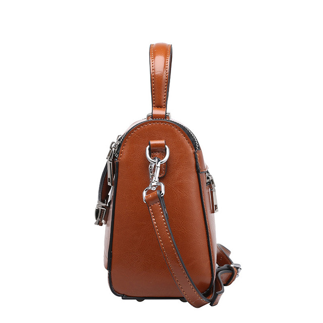 New 2017 Woman Hangbags Cow Split Leather Casual Women Handbag Bags Solid Color Fashion Womens Handbag