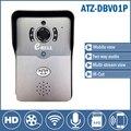 Двери видео Домофон Беспроводной дверной звонок Домофон с Камерой Ночного Версия ИК Motion Detection Alarm поддержка дистанционного управления открыть дверь