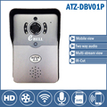 Door video Intercom Wifi doorbell Wireless Intercom with Camera Night Version IR Motion Detection Alarm support remote open door