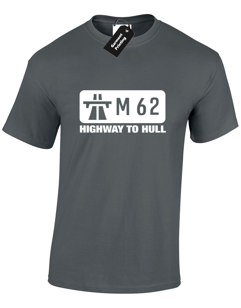 M62 Highway To Hull Funny Womens Ladies T-Shirt