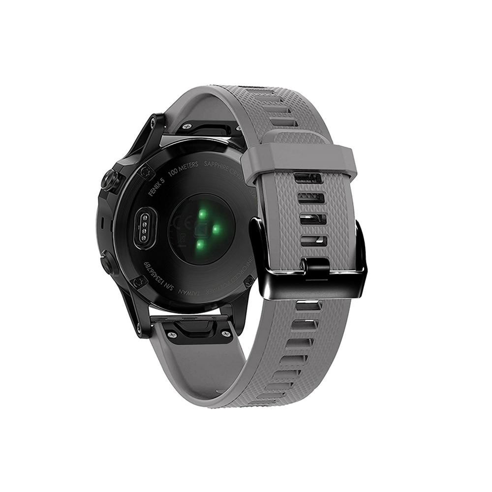 מערכות שמע נייד לביש צפה Easy Fit צמיד עבור Garmin Fenix 5/5 פלוס שחרור מהיר רצועה עבור Garmin Forerunner 935/945/45 / 45s Wriststrap (3)