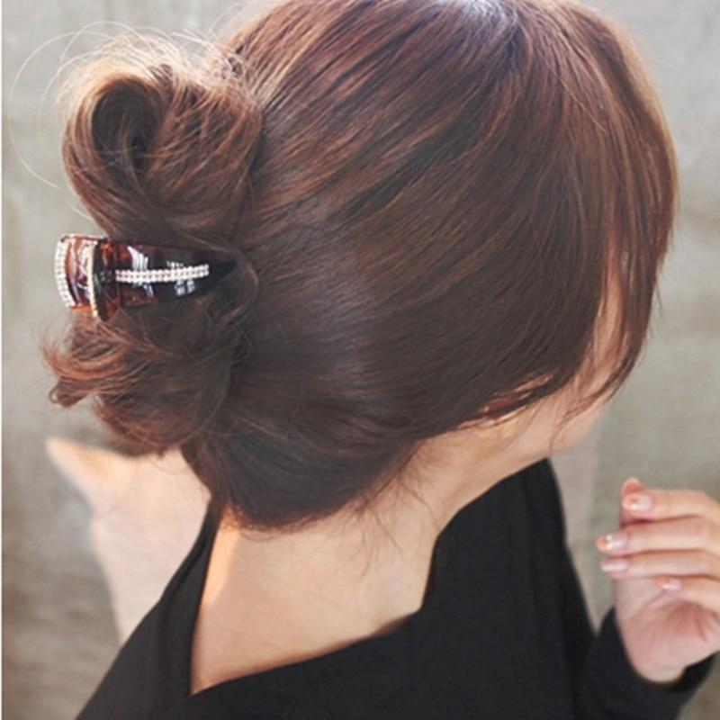 Neue Mode Koreanische Haargreifer Für Frauen Acryl Strass