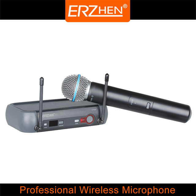 Hot Selling Wireless Mic Professional Wireless Microphone System R-PGX4 High Quality Wireless Microphone