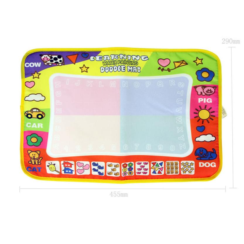 Aqua Doodle Children Drawing Toys Mat Magic Pen Educational Toy 1 Mat+ 2 Wate Z720