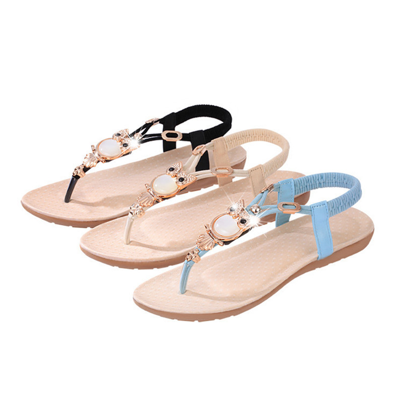 New Spring Summer Hot Sale Women Sandals Fashion Woman Casual Flat Sandals Shoes Female Footwear