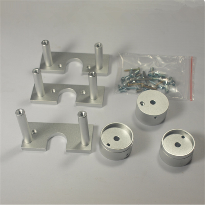 A Funssor 1set*PROXXON MF70 Nema 23 stepper MOTOR MOUNTING KIT Fast ship тиски proxxon primus 100
