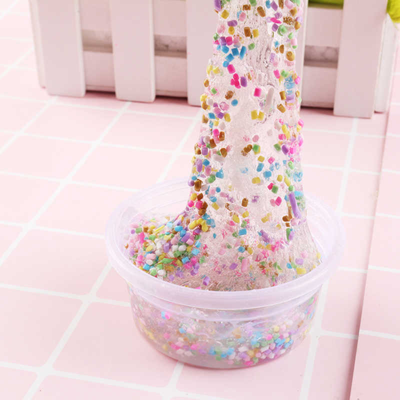 Simulation Sprinkles Cake Slime Decoration Filler Supplies Lizun DIY  Polymer Clay Molds Chocolate Fake Sprinkles Sweets Needle
