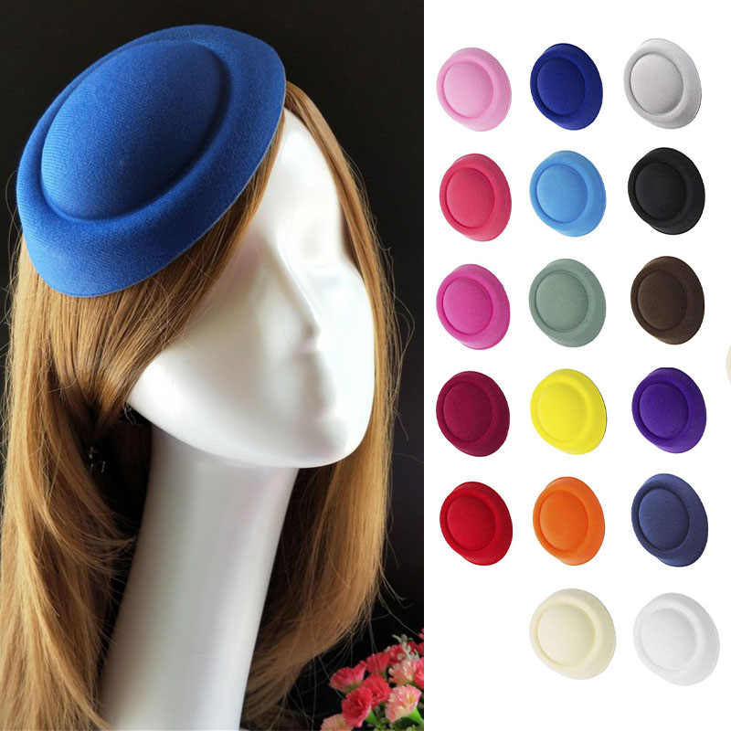 Detail Feedback Questions about FGHGF Women Mini Top Hat Lady Stewardess  Pillbox Hat Fascinator Millinery Hat Base Wedding Party Headwear Craft  Making ... 0ffe93f565a