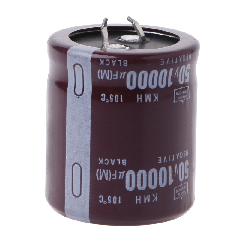 10000uF 50V 105Celsius Power Electrolytic Capacitor Snap Fit Snap In