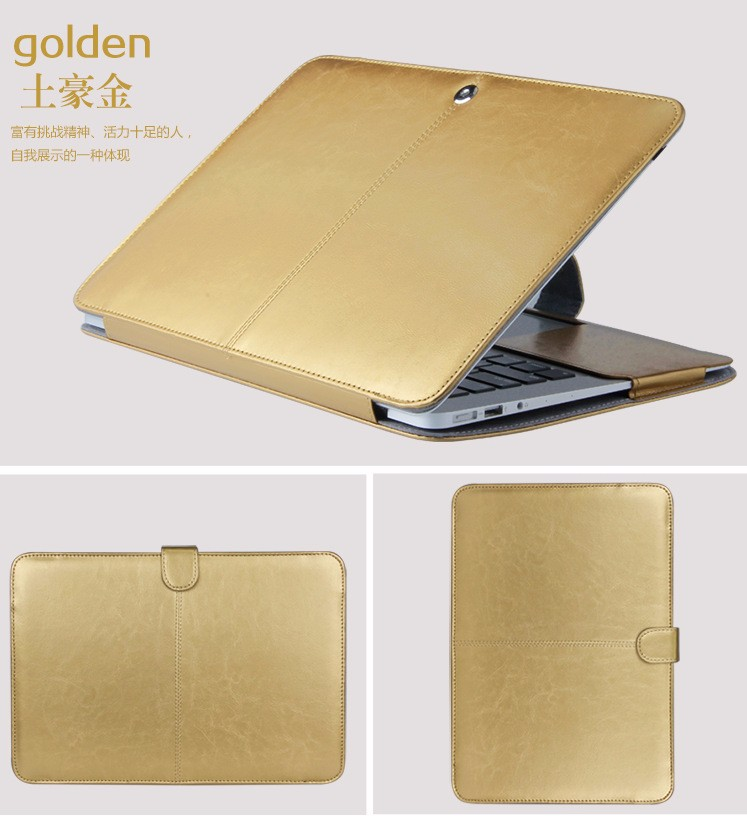 PU leather Notebook Case for MacBook 107