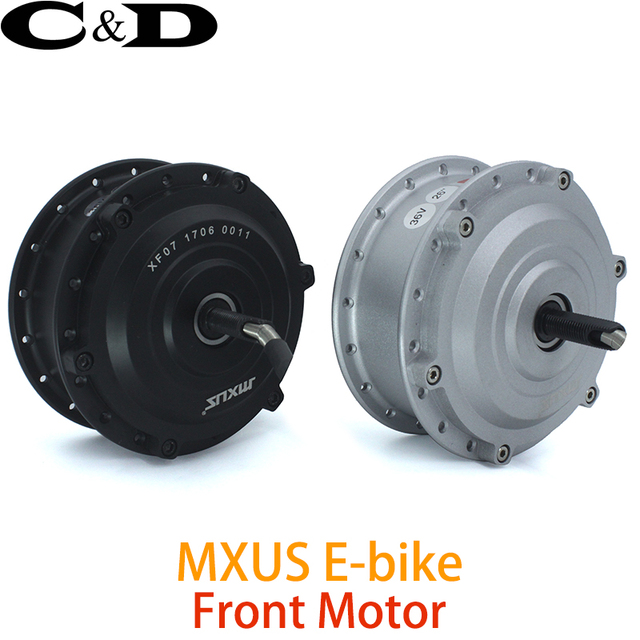 Electric Bike Motor >> Us 107 91 36v 48v 250w 350w High Speed Brushless Gear Hub Motor E Bike Motor Front Wheel Drive Mxus Xf07 In Electric Bicycle Motor From Sports