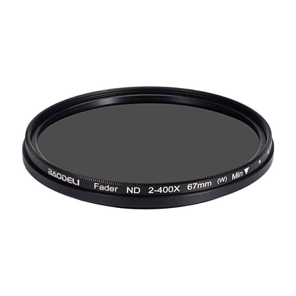 72 BAODELI Neutral Density Filtro Nd Filter Variable Nd2-400 Concept 49 52 55 58 62 67 72 77 82 Mm For Camera Canon Dslr Nikon Sony (4)