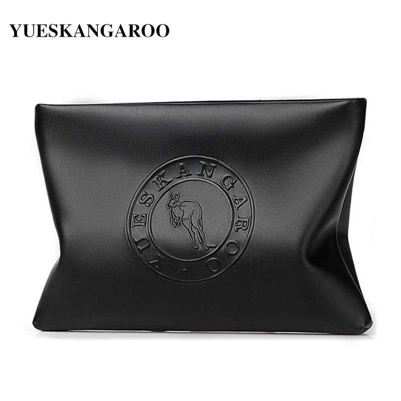 2018 New Brand Men Wallet Leather Male Handy Bag Long Purse Card Holder Business Man Clutch Bag Large Capacity Envelope Wallet business men wallet long designer double zipper leather male purse brand mens clutch handy bag luxury wallets carteira masculina