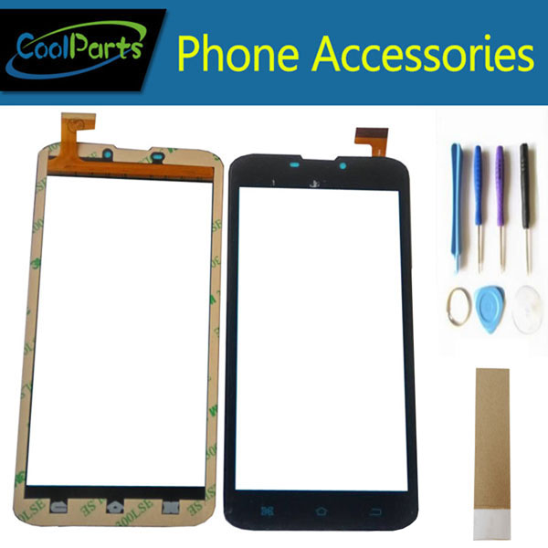 1PC/Lot High Quality 6.0'' For Phablet 4good S605m 3G Touch Screen Digitizer Touch Panel Lens Glass With Tool Black White Color