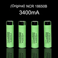 4 pcs/lot New Original 18650 NCR18650B Rechargeable Li-ion battery 3.7V 3400mAh For Panasonic