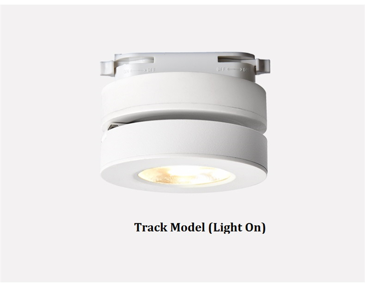 Ultra Thin LED Downlight | Surface Mount LED Lights | Foldable and 360 degree rotatable background,wall track spot light Ultra slim LED surface mounted ceiling spot lamp