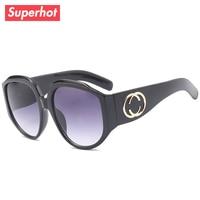 b67831d9d46 Superhot Eyewear - Fashion Oversized Sunglasses Women Brand Designer Sun  glasses Big Frame Butterfly Gradient Shades