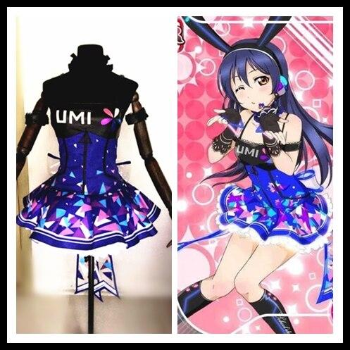 Image 5 - Amor ao vivo cyber idolatrado empregada led jogo de jogos  despertar todos os membros minami kotori uniformes cosplay traje    -