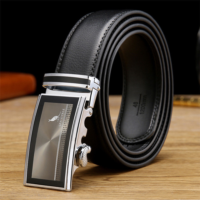 2017 men's fashion accessories new Luxury belts for men genuine leather designer mens belt cowskin high quality free shipping