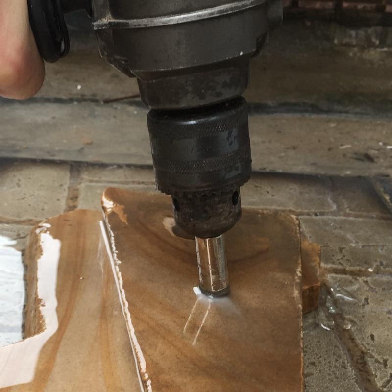 66mm Lapidary Super-thin Diamond Coated Core Drill Bit Hole Saw Masonry Drilling