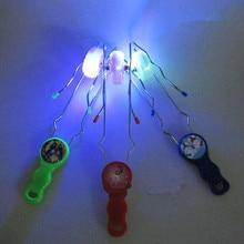 Красочный мигающий гироскоп магический трек йо-йо гироскоп со светодиодом игрушки для детей взрослых лучший подарок спиннинг Топы