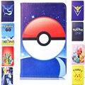 Pokemon animal caso de la alta calidad para samsung galaxy tab 3 lite 7 T110 T111 T113 T116 pikachus cubierta de Cuero para Samsung Tab 3