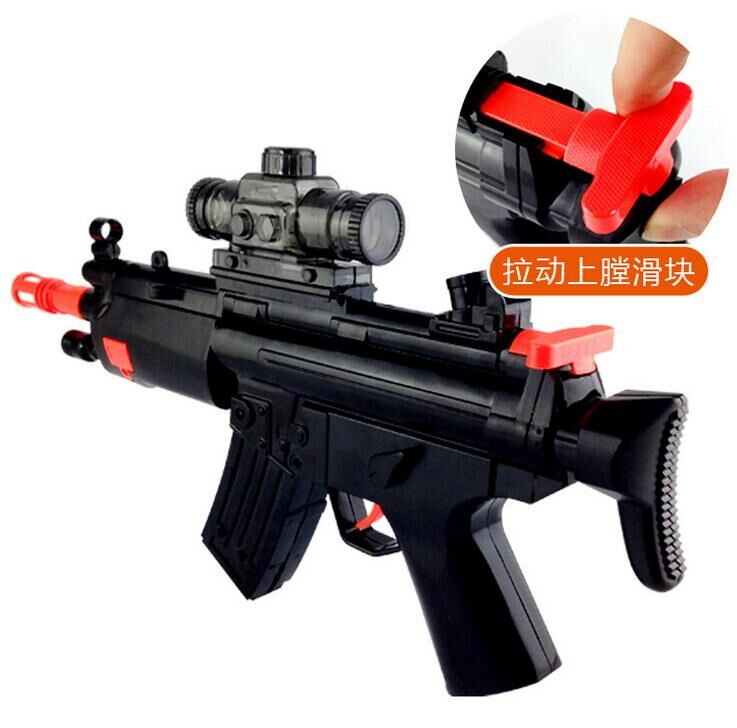 AK 47 Nerf Guns soft bullet &Water bullet Gun Pressure Gun Child Toy Pistol  Bullet with nfrared target Gift Free Shopping #45-in Toy Guns from Toys ...