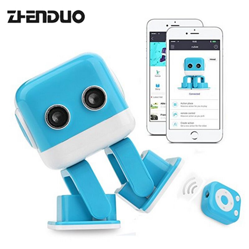 Zhen Duo Multifunctional Music Programmable Smart Robot APP and Wireless Remote Control Intelligent Educational Robot for Kids multi robot assignment and formation control
