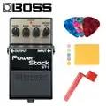 Boss ST 2 Power Stack Overdrive Fascio con Picconi, Panno di Lucidatura e Corde Avvolgitore