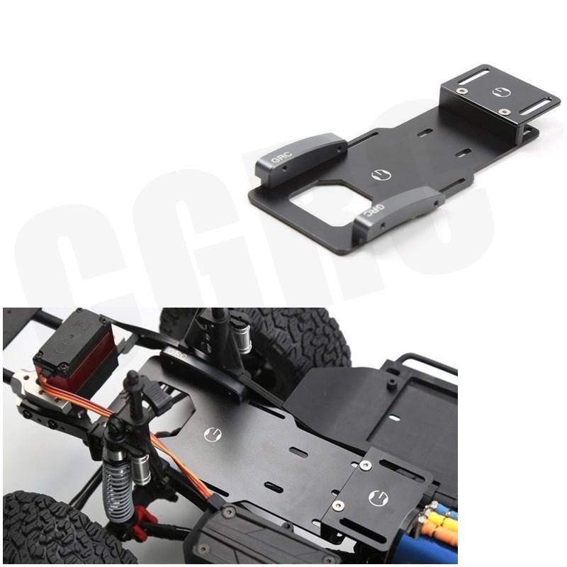 110 RC Crawler Low Center Of Gravity Battery Bracket Metal Battery  Esc Relocation Plate For Axial SCX10 II Ax90046