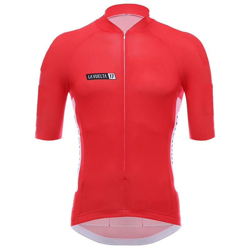 2017 La Vuelta spain 4 color cycling jerseys summer Bicycle maillot breathable MTB Short sleeve bike clothing Ropa Ciclismo only x tiger brand pro summer cycling set bicycle jerseys breathable short sleeve mountain bike clothing 2017 maillot ropa ciclismo